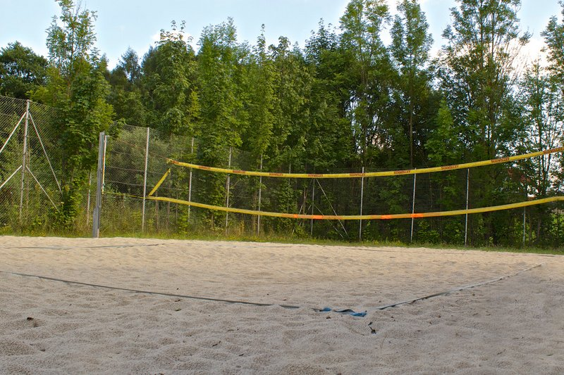 Beach- Volleyballplatz